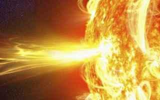 attività solare  catastrofi  eruzione