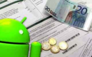 Economia: bollette soldi android multe