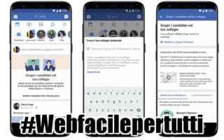 Politica: elezioni candidati facebook