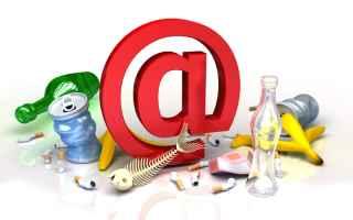 Internet: pec  professionisti  spam  garante