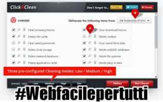 click  clean  estensione  chrome