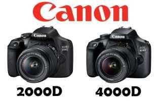 Fotocamere: canon reflex eos fotografia