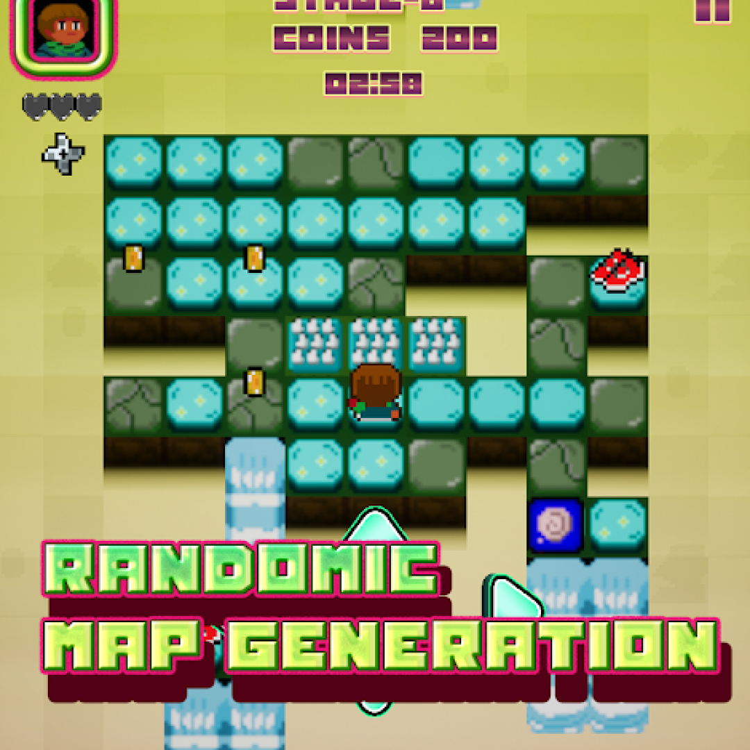 retrogame indie game arcade android
