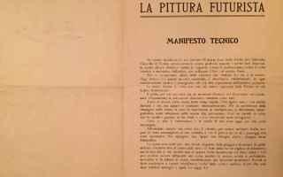 Libri: tdl18  futurismo  libri antichi
