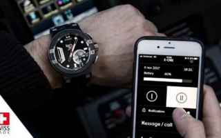 smartwatch ibrido  movimento meccanico