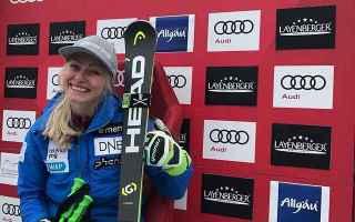 Ragnhild Mowinckel scatenata in questo finale di stagione, dopo le due medaglie olimpiche nel gigant