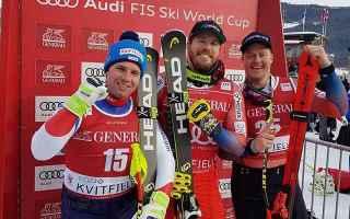 Kjetil Jansrud conquista la seconda vittoria stagionale e la terza coppa di Super G a Kvitfjell, nuo