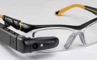 Gadget: toshiba  realtà aumentata  smart glass