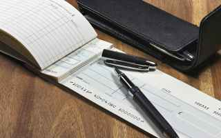 Soldi: assegni  non trasferibile  mef