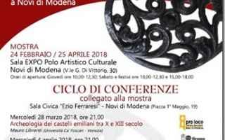 """Ciclo di conferenze collegate alla mostra<br />""""In loco ubi dicitur Vicolongo. L'insediamento m"""