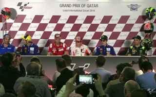 MotoGP: MOTO GP: QATAR GP: DOVIZIOSO-ROSSI-VINALES SFIDANO MARQUEZ