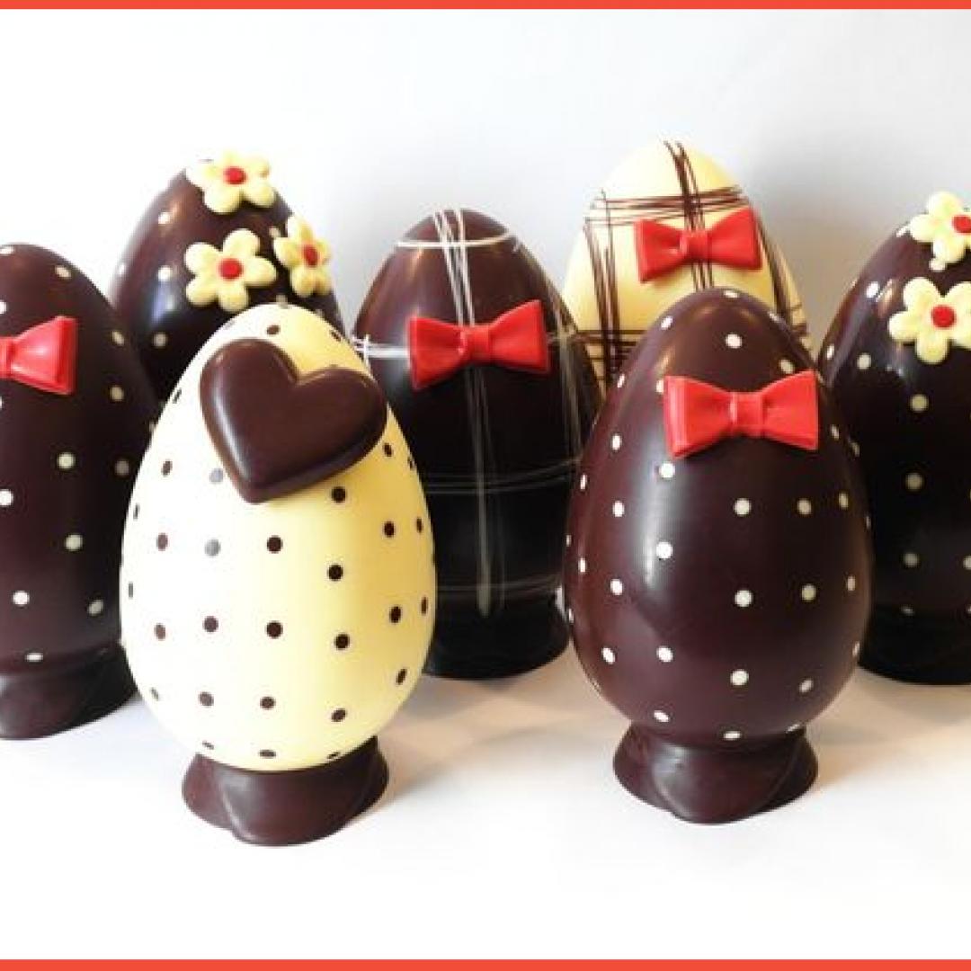 idee per decorare le uova di pasqua (cake design)