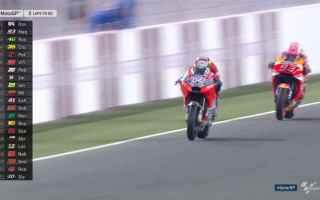 MotoGP: dovizioso  rossi  qatar  motogp