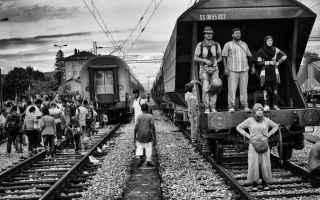 fotografia guerra migranti