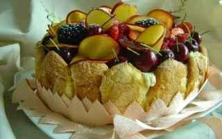 ricetta  dolce  frutta  crema