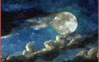 luna  nnamorati  poesia  sera