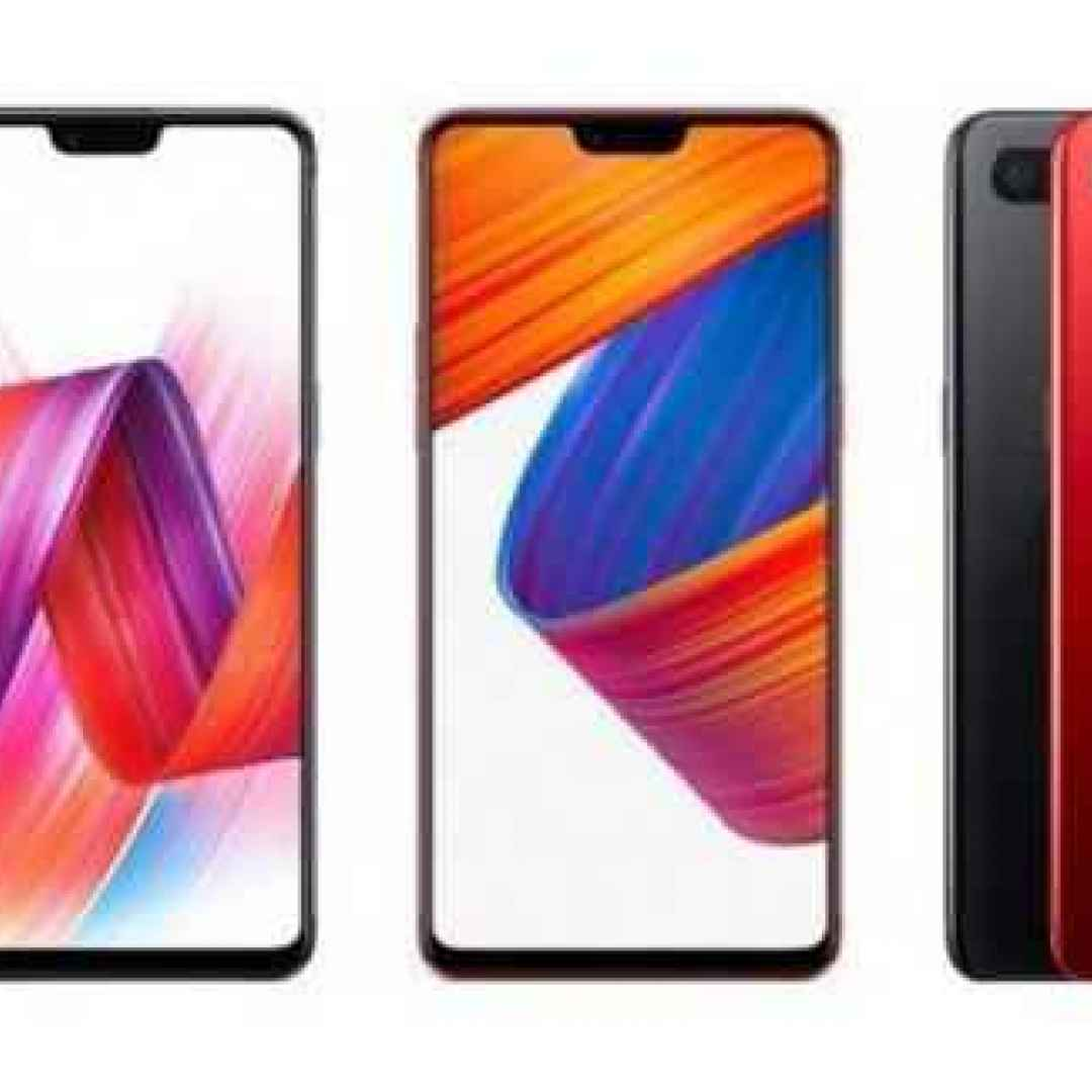 oppo  notch  smartphone