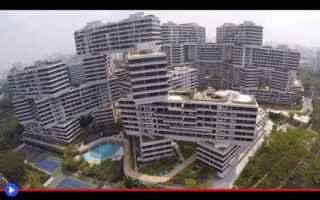architettura  edifici  asia  singapore