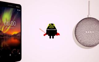 Gadget: nokia 6.1  nokia  google home mini  tech