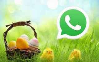 WhatsApp: Gif, Frasi di auguri, Video di Buona Pasqua 2018 da inviare su WhatsApp