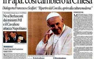 Che Papa Francesco fosse fuori dalle righe si era capito sin dall'inizio, ma tanto da sconvolg