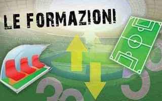 Serie A: formazioni  serie a