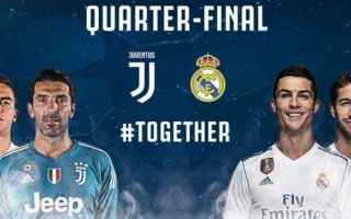Champions League: real madrid  juventus