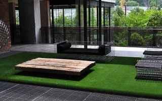 Giardinaggio: erba sintetica  giardinaggio  terrazzi  erba