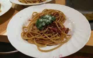 ortiche  carbonara  spaghetti