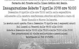 Storia: castel bolognese  guerra  mostra  senio