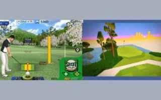 Mobile games: golf  videogame