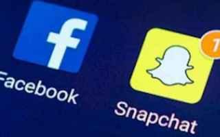 Social Network: snapchat  facebook  video  selfie