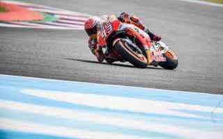Marc Marquez manda un messaggio ad Andrea Dovizioso, volando nelle PL1-PL2 del Gran Premio dArgentin