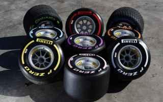 f1  pirelli  battistrada  gomme