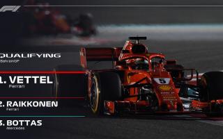 Ferrari straordinaria a Sakir, che ottiene tutta la prima fila nelle qualifiche, con pole position a