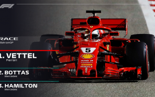 Formula 1: gp bahrain  vettel  ferrari  f1