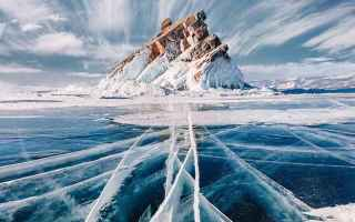fotografia  lago  inverno