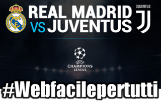 Champions League: real madrid juventus diretta streaming