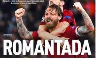 Champions League: roma  barcellona  champions  calcio