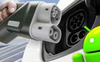 auto elettrica  auto ev  stazioni  android