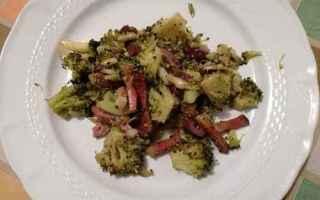 Ricette: ricetta  broccoli  speck  olive