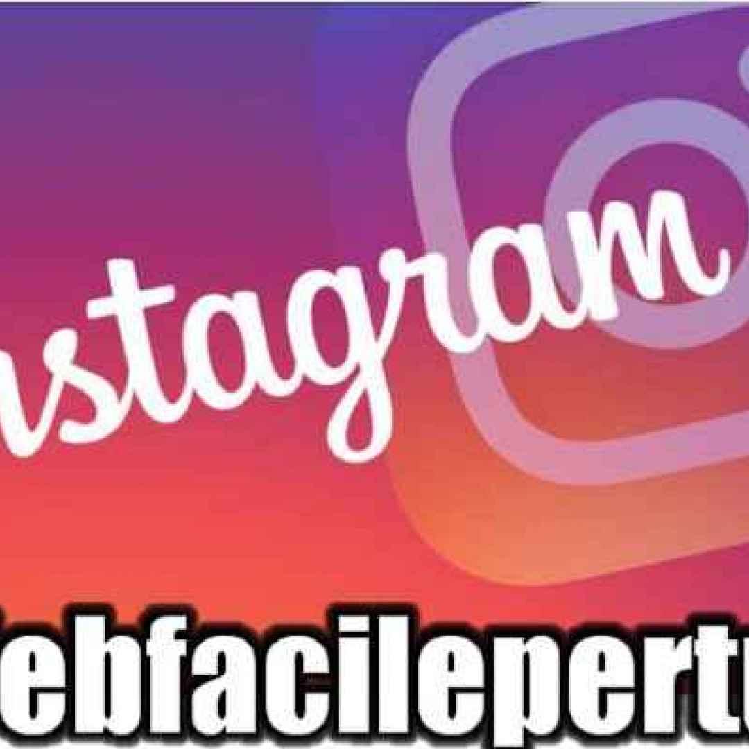 instagrameffetto sfocato