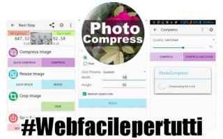 foto compress  app