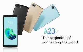 blackview a20  android go  smartphone
