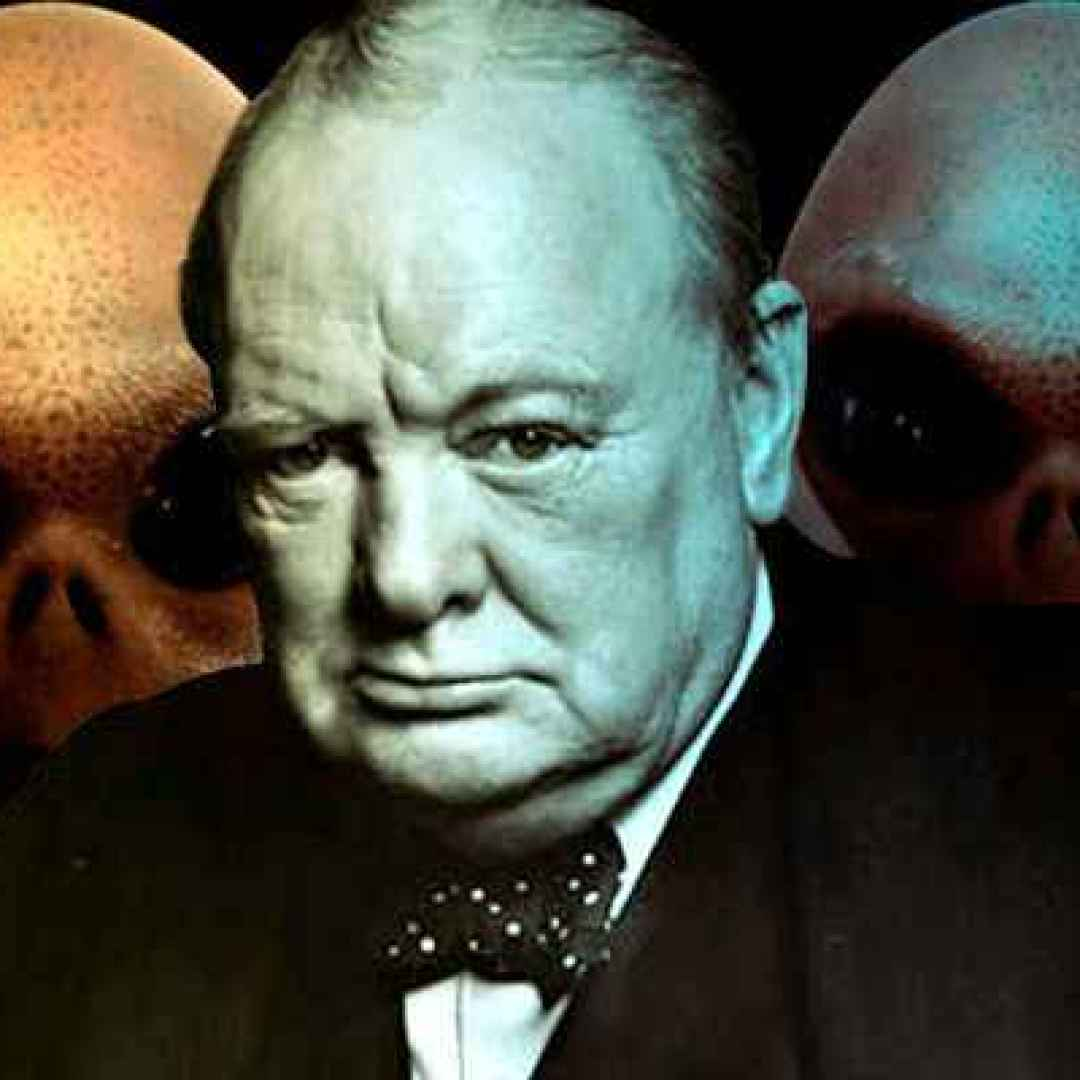 alieni  churchill  extraterrestri