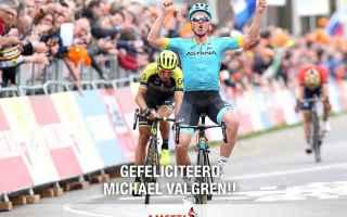 Ciclismo: CICLISMO: VALGREN VINCE L