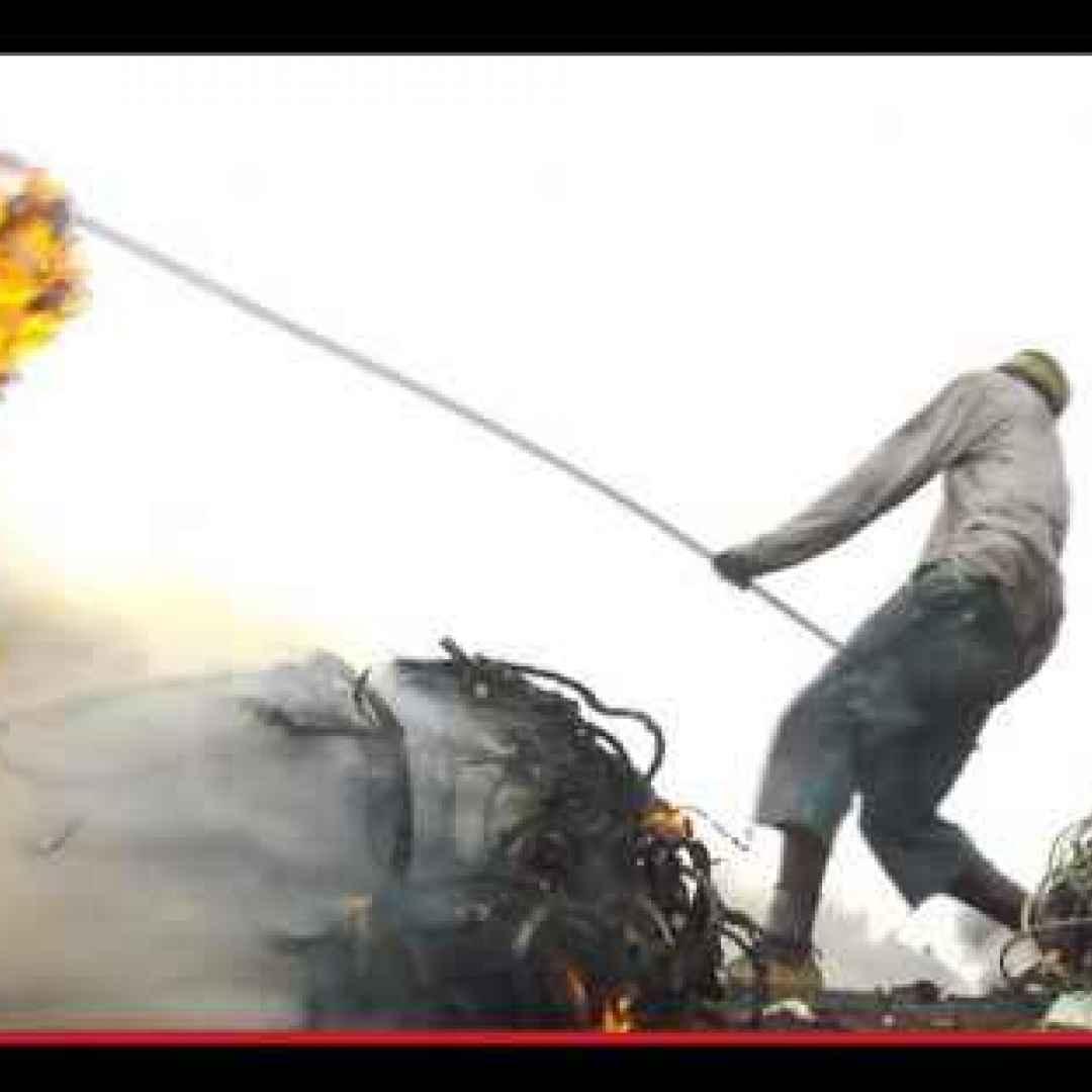 africa  società  spazzatura  discariche