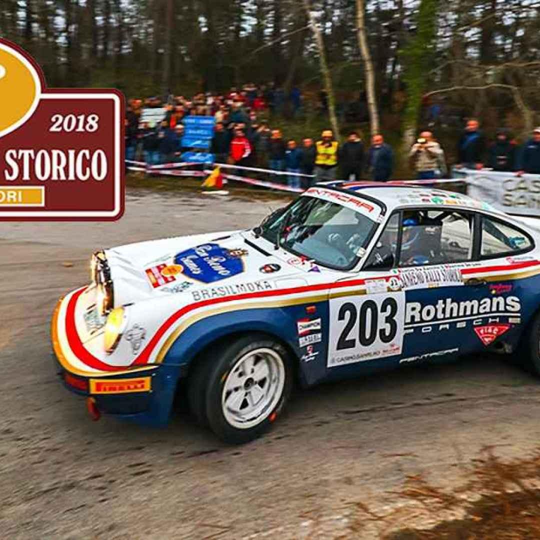 rally storico  auto storiche