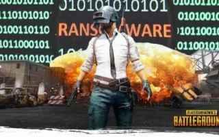 Sicurezza: ransomware  videogame