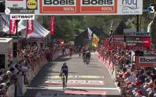 Julian Alaphilippe vince la prima classica della sua carriera ponendo fine al dominio di Valverde, c